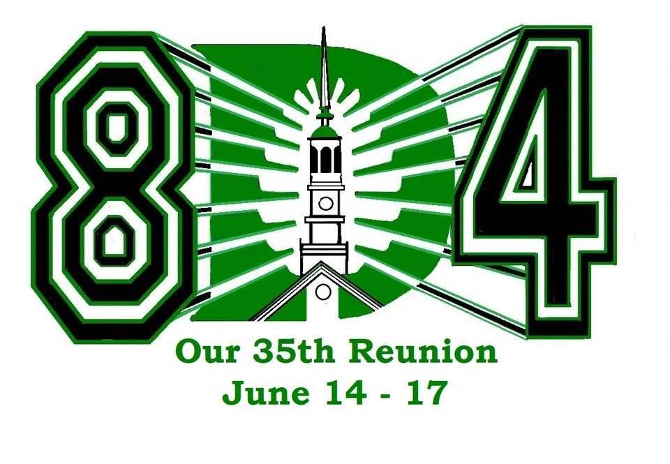 dartmouth class of 1984 winning logo and choose our reunion theme