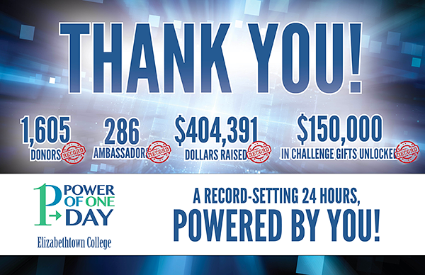 Thank You - Power of One Day 2018 record-breaking results